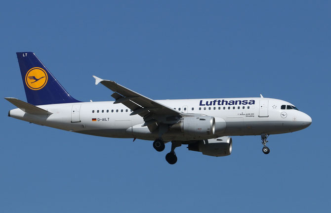 Lufthansa Airbus 319 Straubing >L 16.04.2014/ 10:27