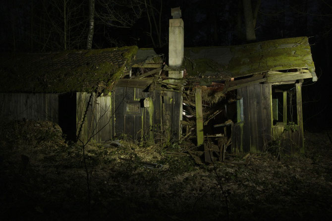 Verfallene Forsthütte bei Birkenfels Lkr. Ansbach