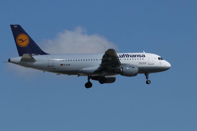 Lufthansa Airbus 319 Friedrichshafen >L 16.04.2014/ 10:37