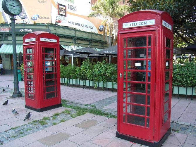 Buenos Aires, Telefonzellen