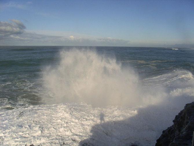 Wellen am Strand von Anglet 4