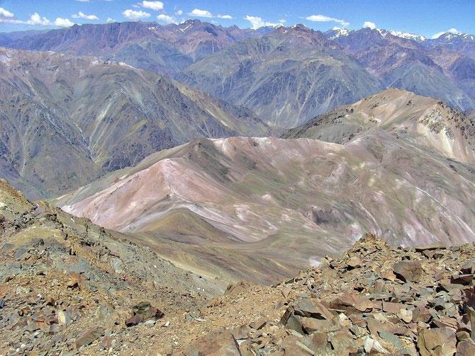 Wunderbare Rundblicke waren hier schon möglich, weit oberhalb von Los Penetentis