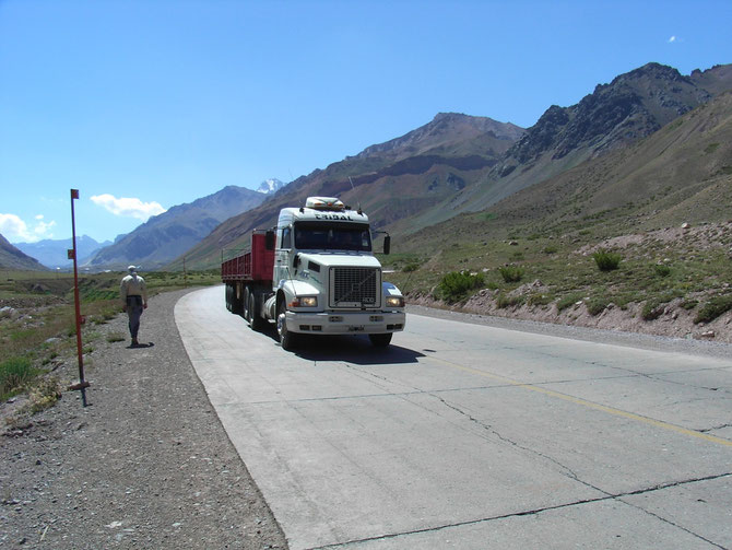 Passstraße nach Peru