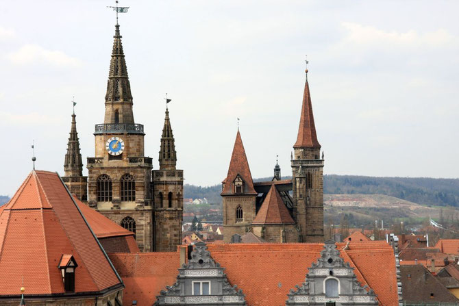 Gumbertus und Johanniskirche