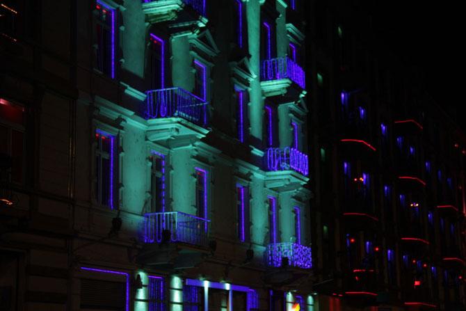 Rotlichtviertel in Frankfurt 19.01.2012
