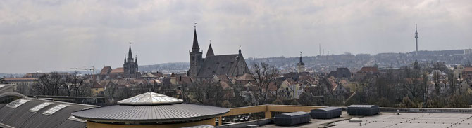 Ansbach-Panorama vom REAL aus 02.04.2013 um 10:14