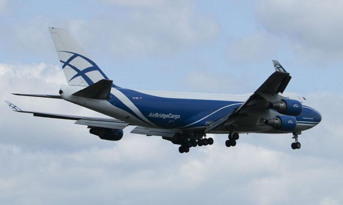 AirBridge Cargo Boing 747> L 16.04.2014/ 12:25