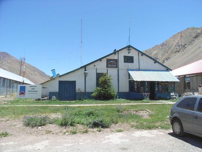 Refugio Cruz de Cana war für  die nächsten Tage. Von hieraus wurde Kontakt zu Rudy Parra in Los Puquios aufgenommen