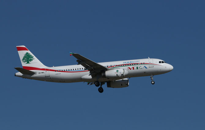 Air Liban Airbus A320 > L 16.04.2014/ 09:21