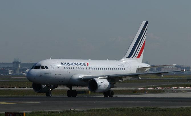 Air France Airbus A318 > S 16.04.2014/ 09:39