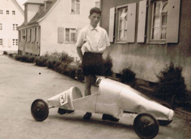 Meine erste Seifenkiste 1957