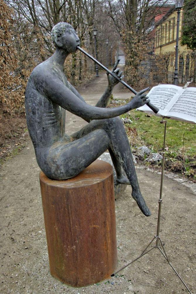 Flötenspieler von Ernst Steinacker
