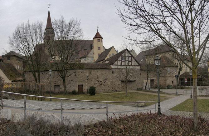 Altstadt Ansicht von Norden