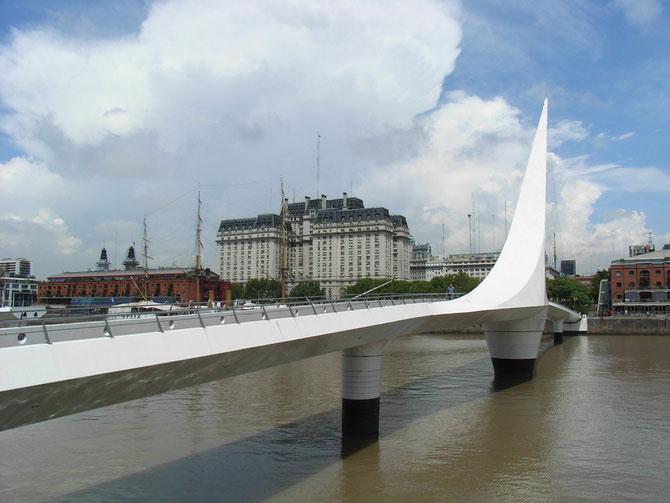 Buenos Aires, Hafen, Frauenbrücke