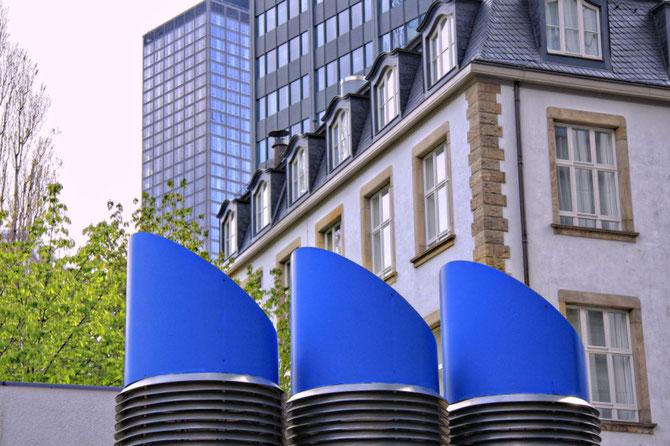 Urbanes Designe, Entlüftungsschächte Frankfurt