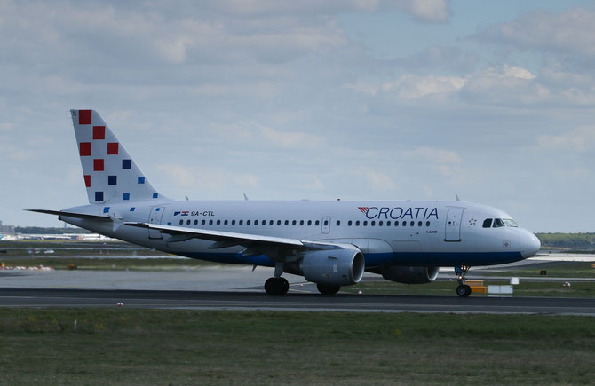 CroatiaAirlines Airbus A319 > S 16.04.2014/ 11:50