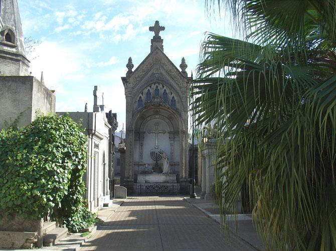 """Evita Peron ist auf dem """"Cementerio de Recoleta"""" beigesetzt"""