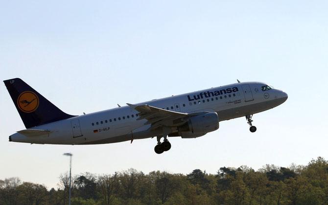 Lufthansa Airbus 319 Tübingen >S 16.04.2014/ 09:32