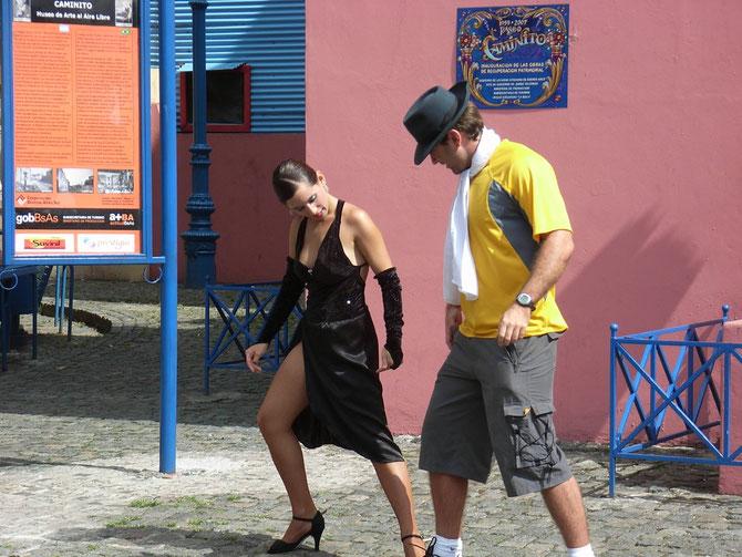 "Buenos Aires, ""Caminito"" im Stadtteil Boca"