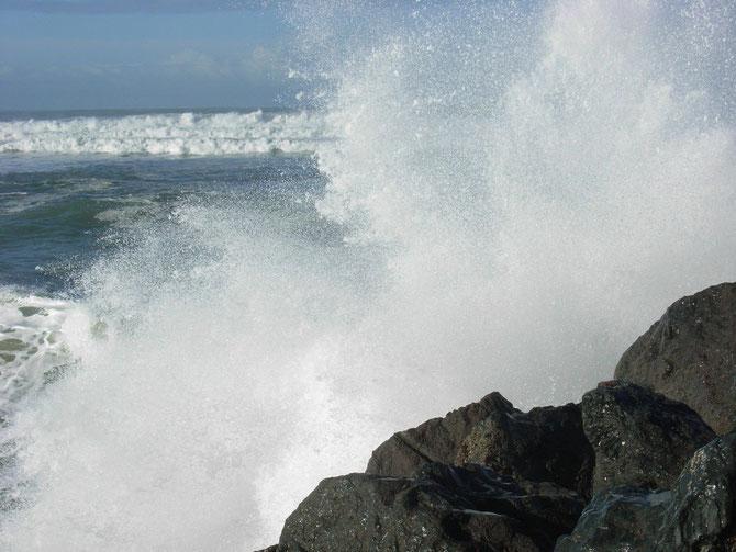 Wellen am Strand von Anglet 3