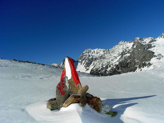 Alpines Wegzeichen