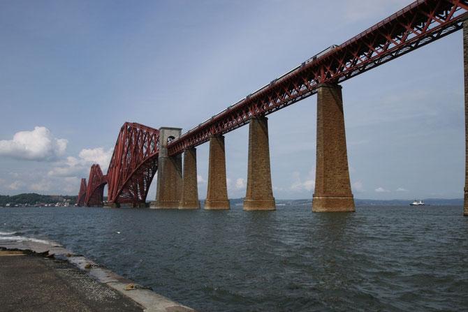 Forth Bridge, Schottland, Länge 2500 m, Ferigstellung 1890, Foto 27.05.2014