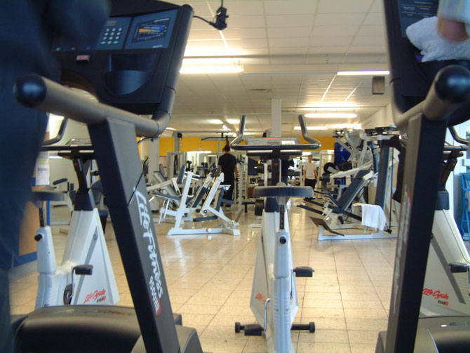 Fitness-Trainingsraum im Life