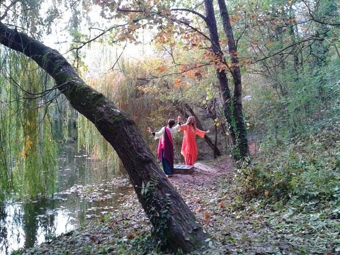 Jess Nightingale et Drachin von Terra_Les 4 saisons des Dames du Lac_photo Micheline Reboulleau 11/11/2014