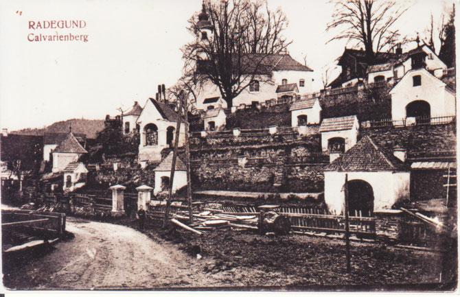 Die Kalvarienbergstraße 1924