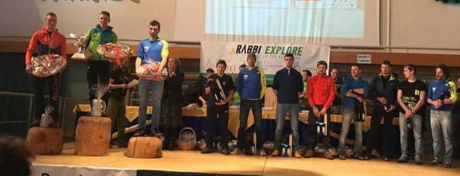 4. Platz von Michael beim Rennen in Val di Sole (TN)