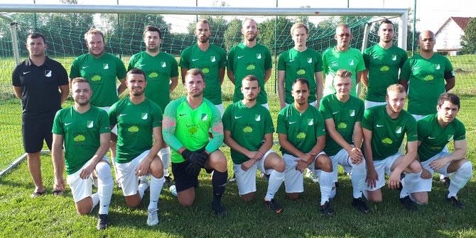 Unsere Mannschaft beim Rhiel-Cup