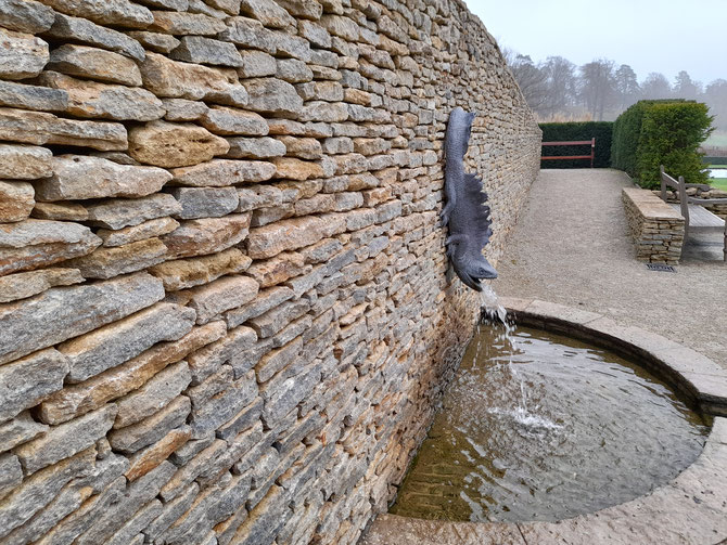 Natural walling stone - this will be there for centuries