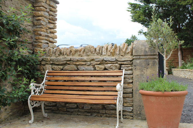 Garden walling adding structure, purpose and beauty to the property