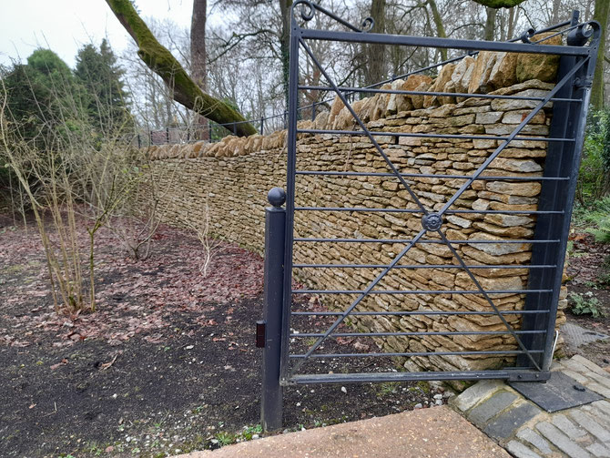Dry stone walling to perfection