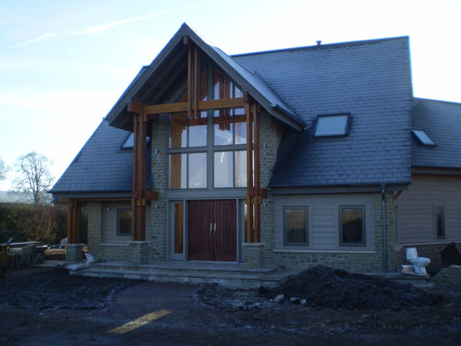 This is going to be fantastic when it is ready - natural building stone bringing the building together