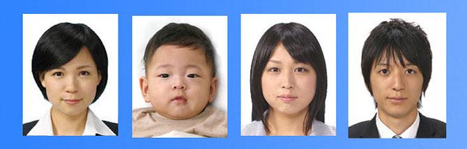 パスポート写真千葉の写真スタジオ