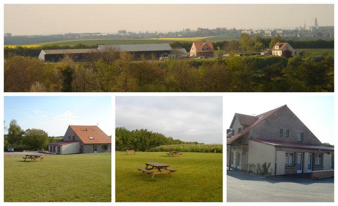 Meublés, chambres d'hotes proche Amiens
