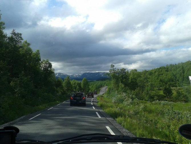 Die Anreise mit dem Auto