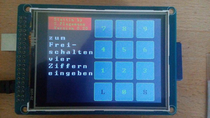 TFT Touch Display