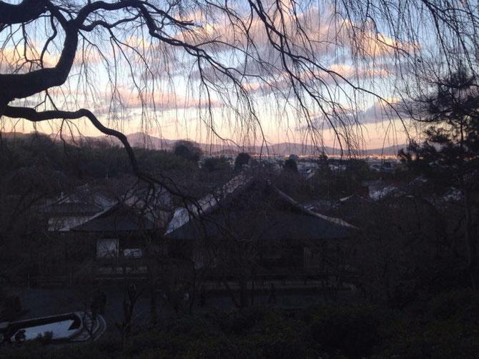Kioto visto desde Arashiyama.