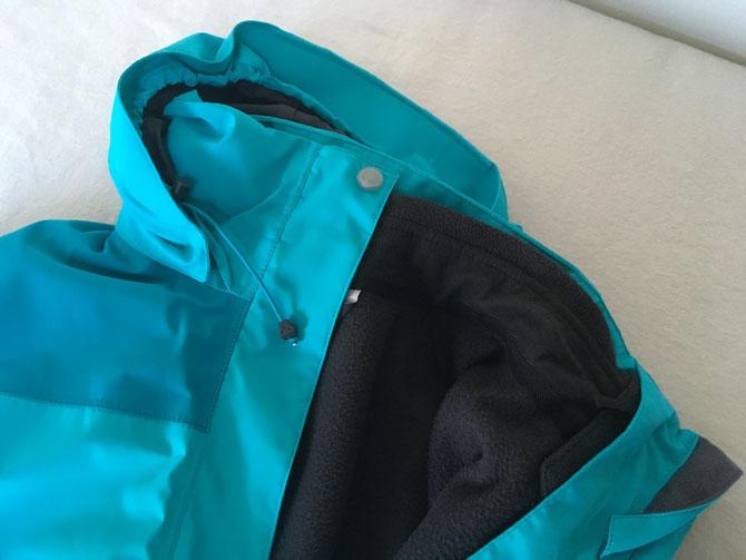 Eine 2-in-1-Jacke ist wirklich praktisch