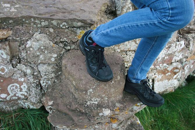 Trekkingschuhe sind für einen Schottlandurlaub immer eine gute Idee
