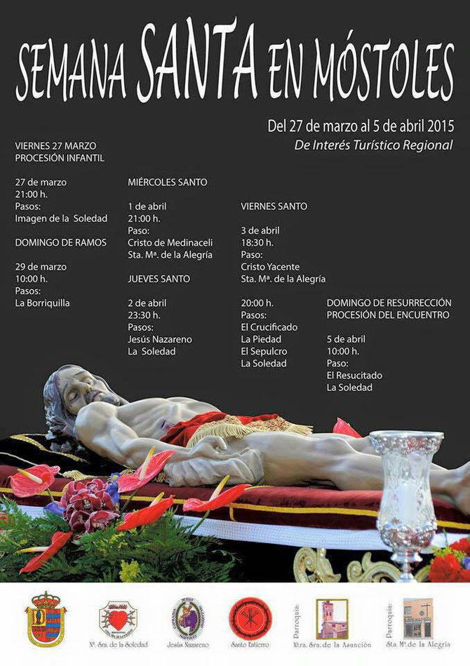 Cartel de la Semana Santa de Móstoles 2015