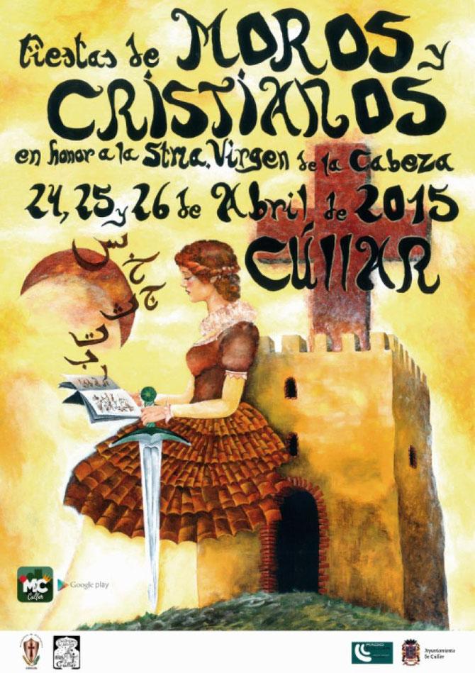 Cartel de las Fiestas de Moros y Cristianos 2015 en Cúllar