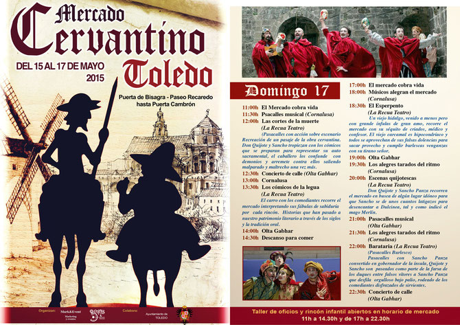 Programa del Mercado Cervantino 2015 en Toledo