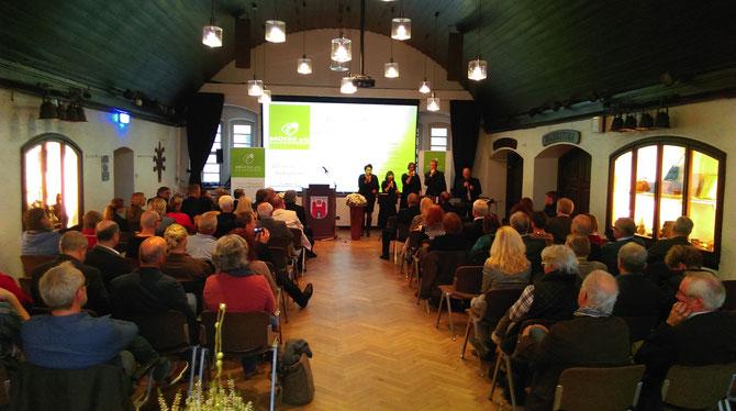 Gut gefüllt: Rathaussaal in Wildeshausen