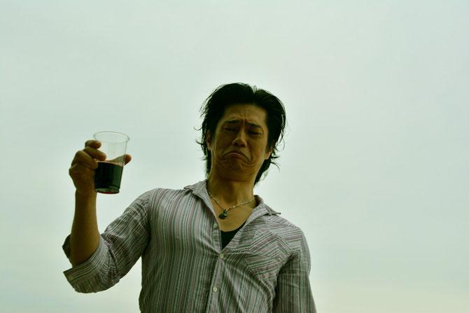 バーベキュー会場 主催者近影5