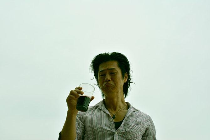 バーベキュー会場 主催者近影4