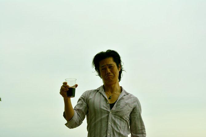 バーベキュー会場 主催者近影3