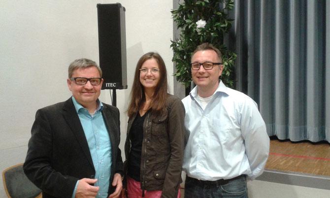 Bernd Schäfer, Nina Macher, Dr. Volker Naumann